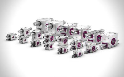 Innovative Mechanik für perfekte Synchronisation – LEANTECHNIK Zahnstangengetriebe