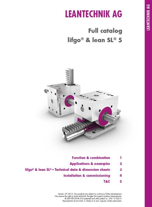 LEANTECHNIK Katalog