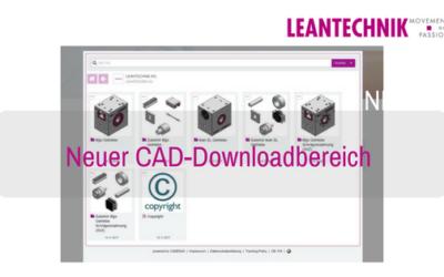Neuer CAD-Downloadbereich