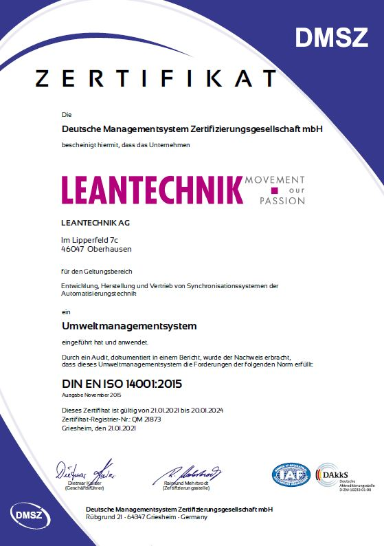LEANTECHNIK ISO 9001-Preview